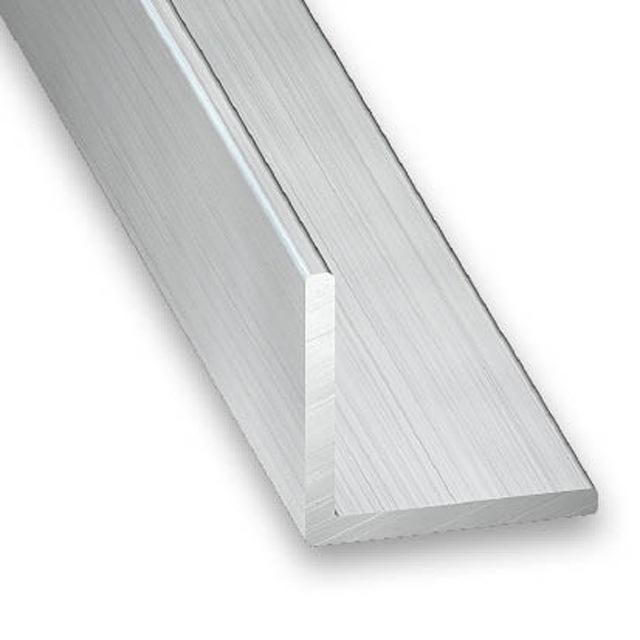 Cornière aluminium 15 mm x 15mm à ailes égales 1