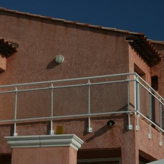 Installation de garde-corps à Toulon