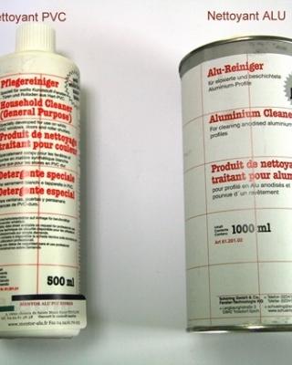 MENTOR | Alu - PVC - Stores -Produits d'entretien et de nettoyage pour menuiseries aluminium et pvc