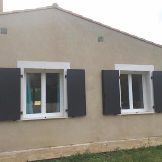 Installation de volets battants à Hyeres