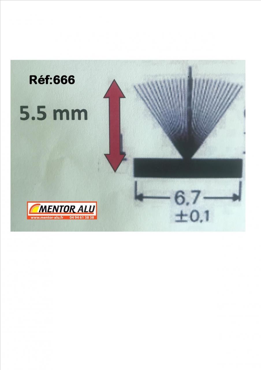 Mentor Alu Pvc Stores Joint Brosse Pour Fenêtre Et Baie