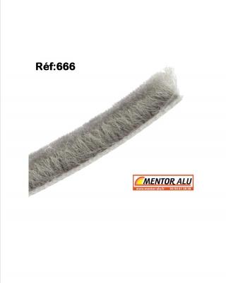MENTOR | Alu - PVC - Stores -Joint brosse pour réparation de fenêtres et baies coulissante