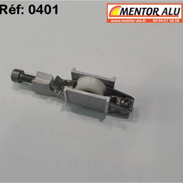 Galet  roulette polyamide  possibilité de démonter la piece centrale voir photo  2