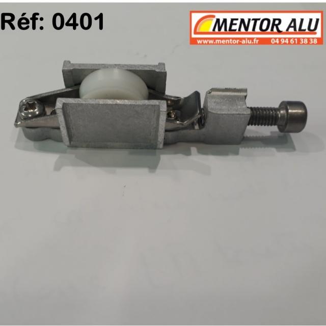Galet  roulette polyamide  possibilité de démonter la piece centrale voir photo  3