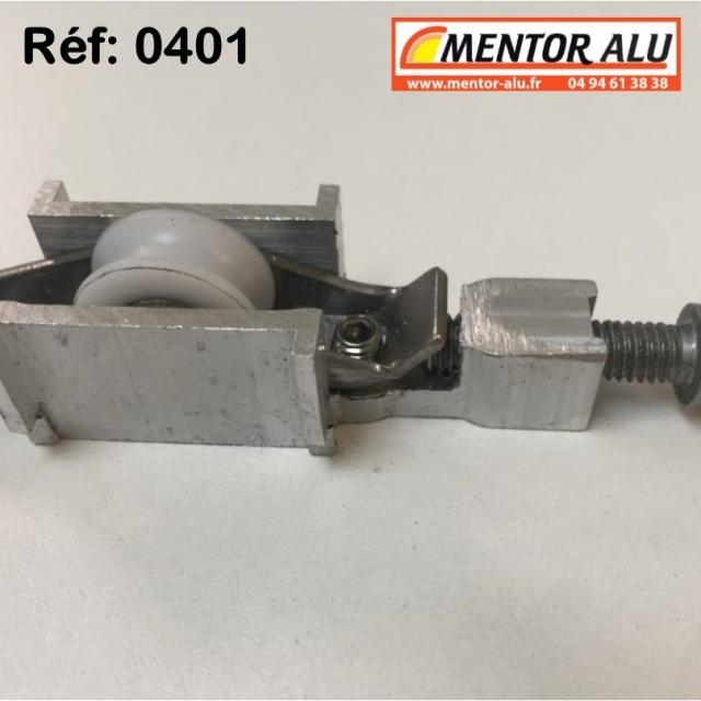 Galet  roulette polyamide  possibilité de démonter la piece centrale voir photo  4