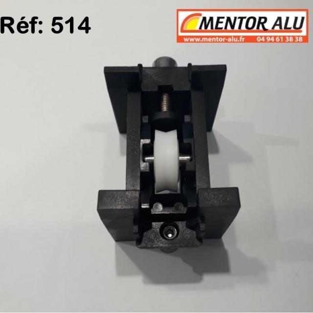 Roulette rénovation de baie coulissante  KIT DE 2 4
