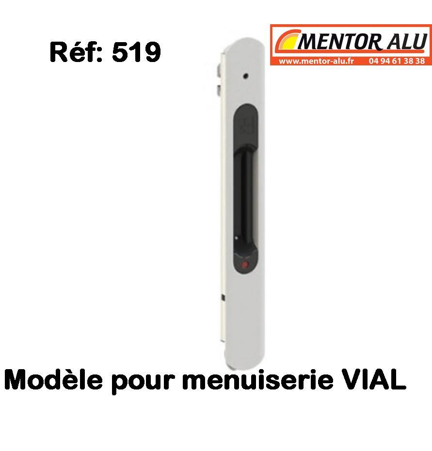 Mentor Alu Pvc Stores Vial Serrure De Baie