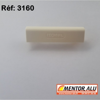 Busette cache trou d'évacuation TECHNAL  - Lot de 10