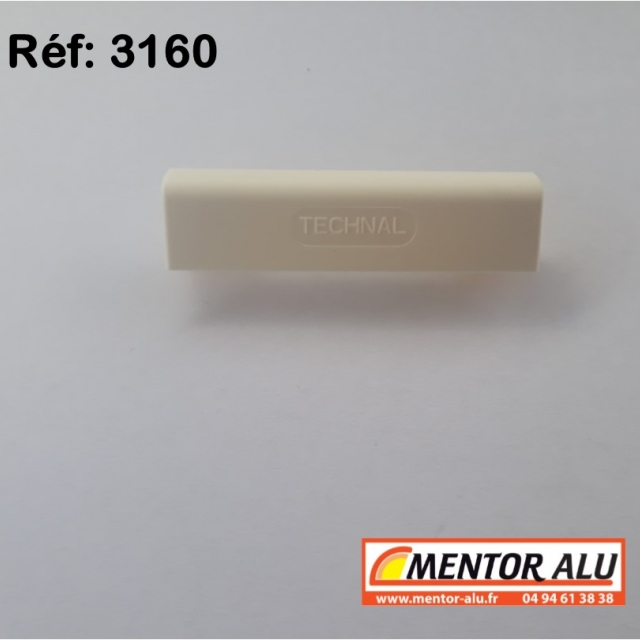 Busette cache trou d'évacuation TECHNAL  - Lot de 10 2