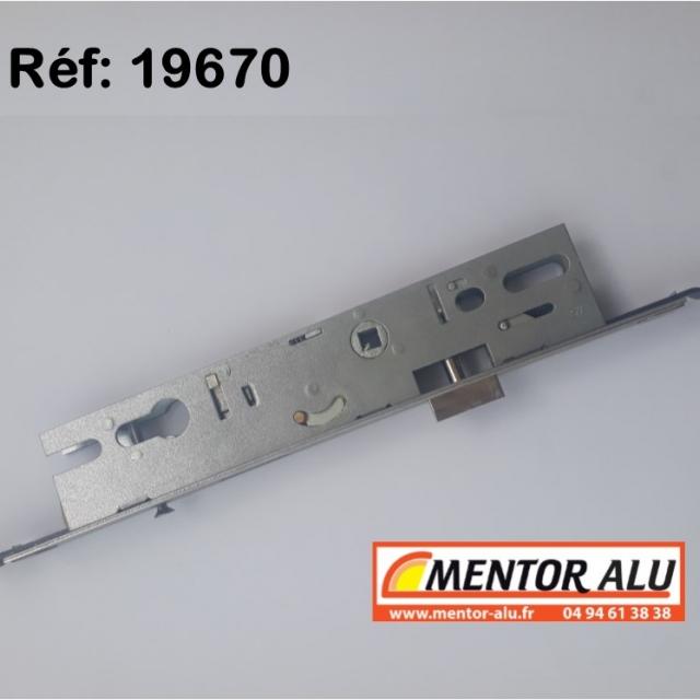 Serrure MULTIPOINT à relevage , coffre de 45 mm 3