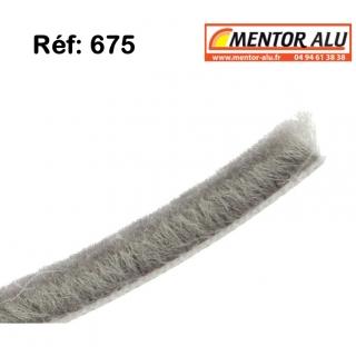 Joint brosse pour fenêtre et  baie coulissante ancienne serie. L 5.5mm