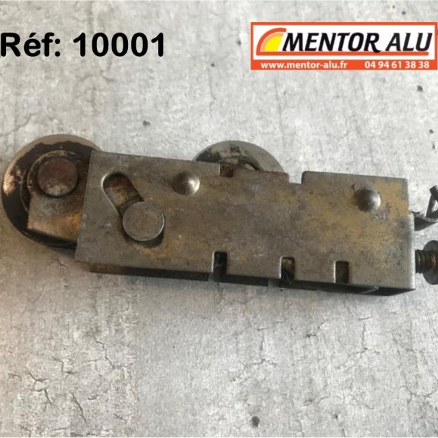 Roulette  de baie coulissante acier 1