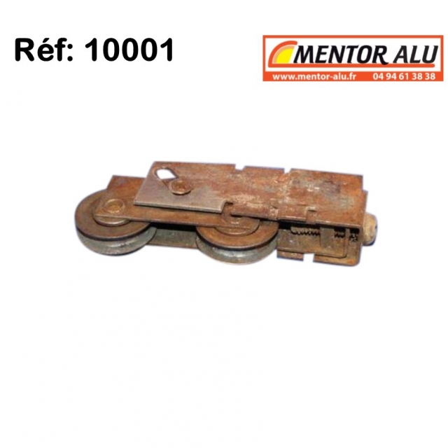 Roulette  de baie coulissante acier 2