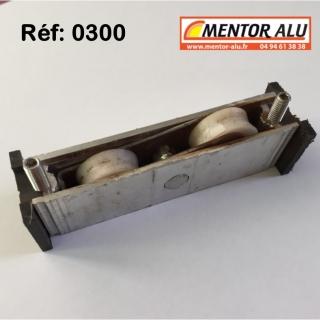 Grille d'aération aluminium Réglable 275 x 22 mm