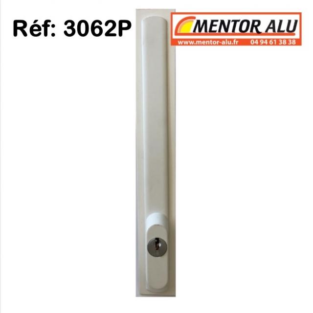 TECHNAL Serrure de coulissant Technal 3062P à clé  - ancien 2942 GK-GRI   1