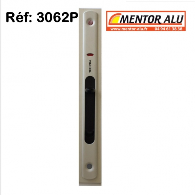 TECHNAL Serrure de coulissant Technal 3062P à clé  - ancien 2942 GK-GRI   2