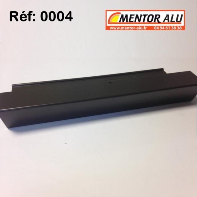 Poignée à plaquer 250 mm 2