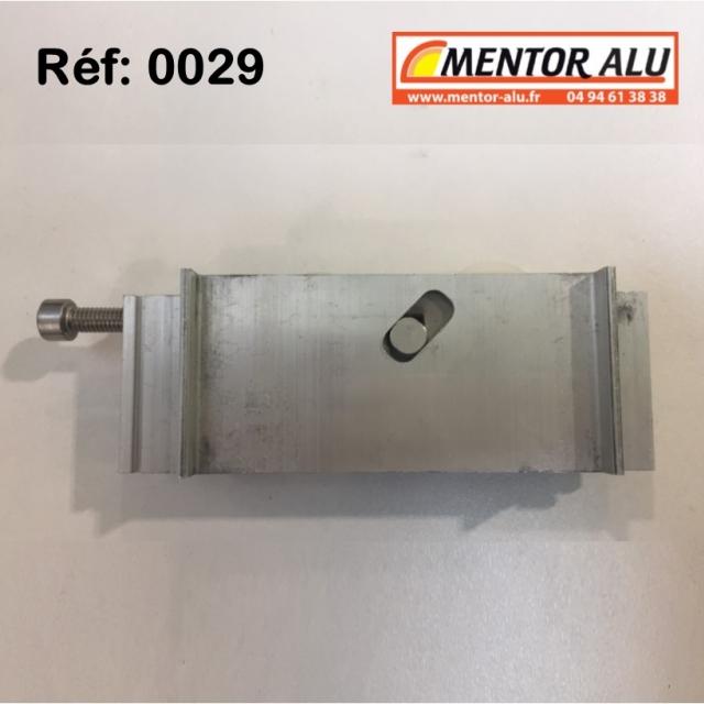 Galet roulette  rénovation  toutes marques grand  modèle largeur 17 mm  à 28 mm Hauteur 45 mm recoupable jusqu'à 22 mm en hauteur 4