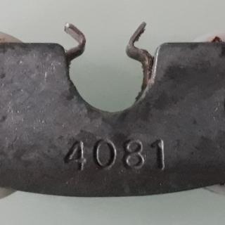 Roulette de baie vitrée coulissante  4081