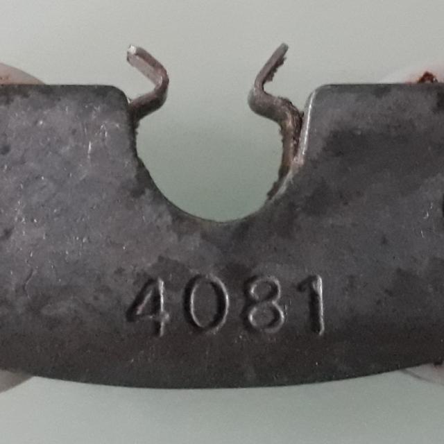 Roulette de baie vitrée coulissante  4081 1