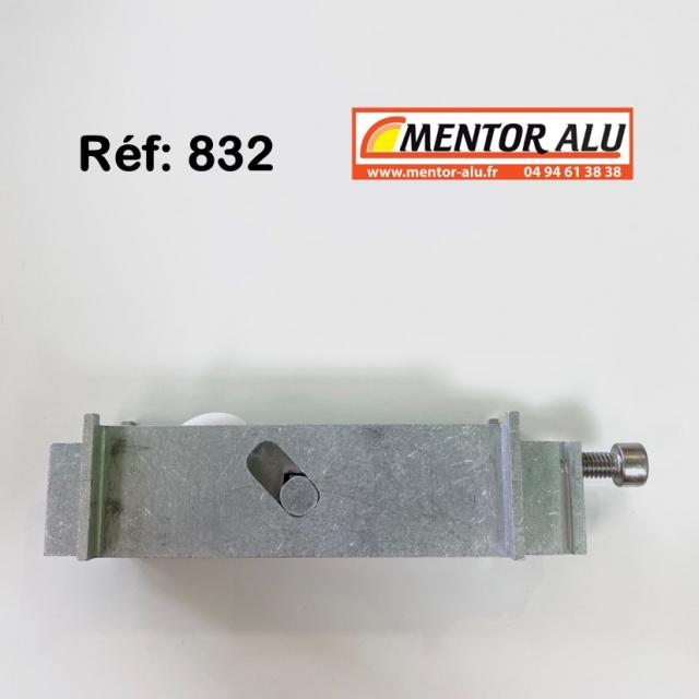 Galet roulette renovation hauteur 30 mm 3