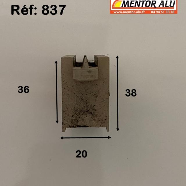 Galet/Roulette baie vitrée coulissante 2