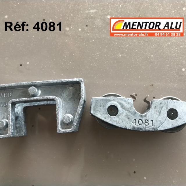 Roulette de baie vitrée coulissante  4081 2