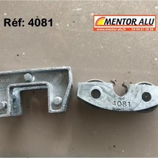 Roulette /Galet de baie coulissante 4081-4933