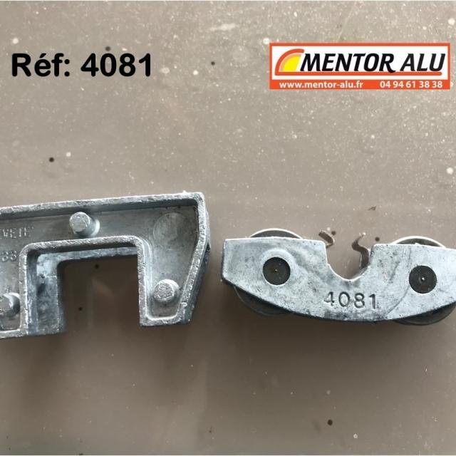 Roulette /Galet de baie coulissante 4081-4933 1