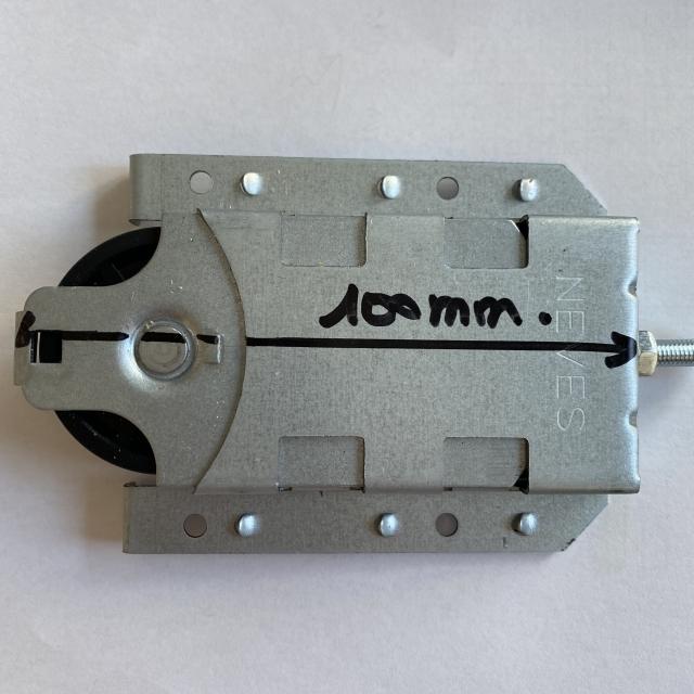 Roulette porte de placard ROLLER 3