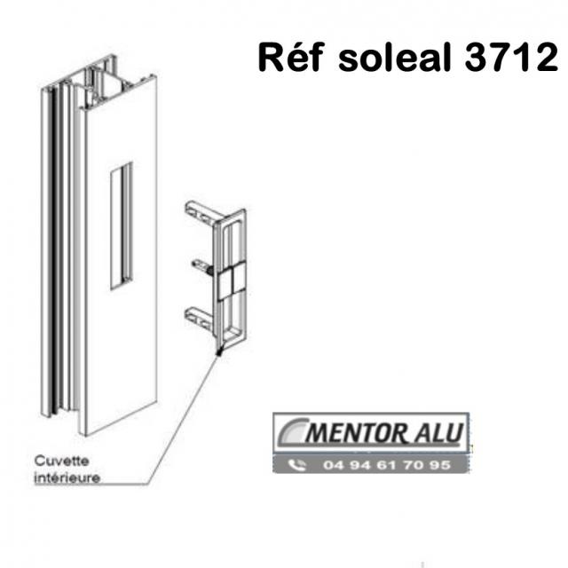 TECHNAL  Serrure de  baie vitrée coulissante SOLEAL 1