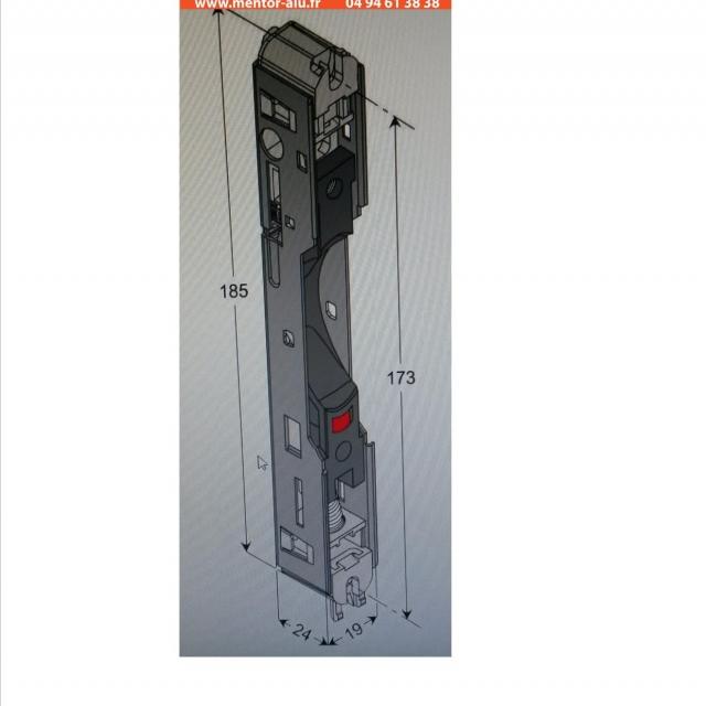 Serrure versus interieure + boitier serrure 2