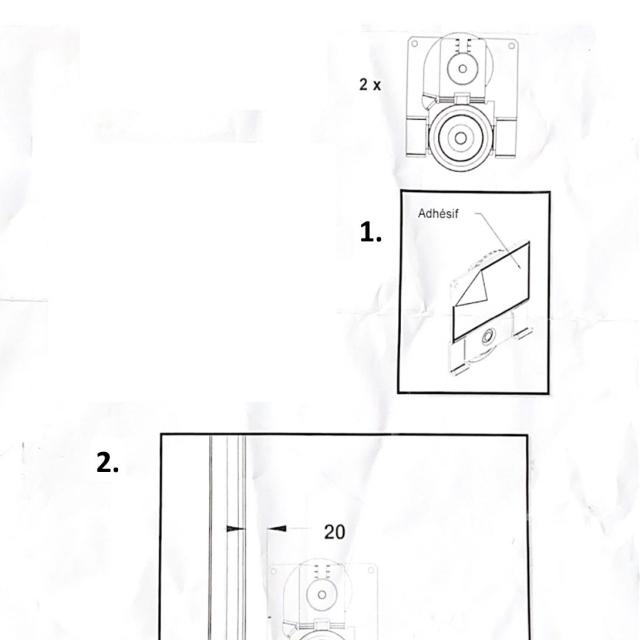 SPID Roulette porte de placard 2