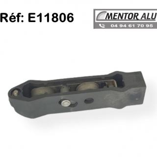 Roulette de Baie vitrée  Coulissante E11806