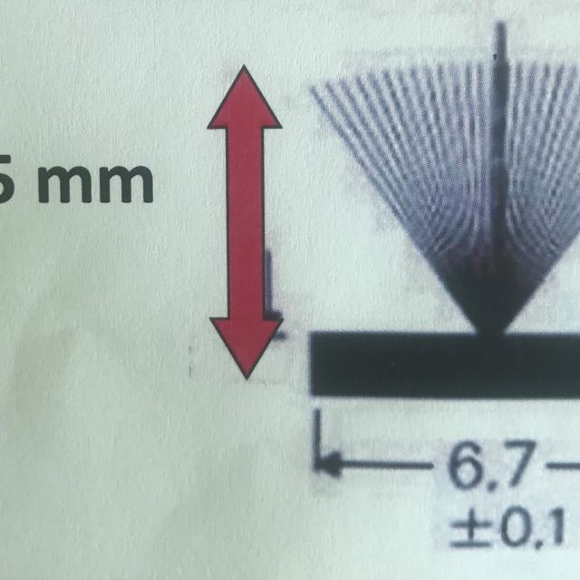 Joint brosse pour fenêtre et  baie coulissante ancienne serie. L 6.7mm -  1