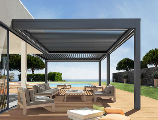 mentor alu pergola bioclimatique sur mesure toulon dans le var. Black Bedroom Furniture Sets. Home Design Ideas