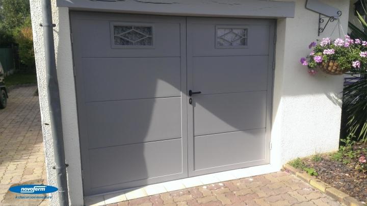 Mentor alu portes de garage enroulables sectionnelles for Portes de garage battantes